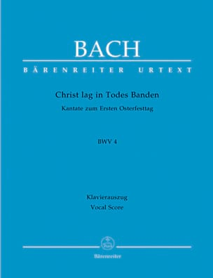 BACH - Cantate 4. Christ Lag In Todes Banden - Partition - di-arezzo.fr