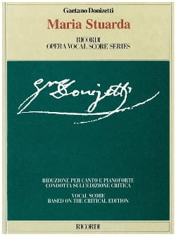 Gaetano Donizetti - Maria Stuarda - Sheet Music - di-arezzo.co.uk
