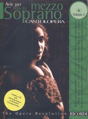 - Arie Per Mezzo-Soprano Volume 3 - Partition - di-arezzo.fr