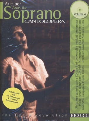 - Arie Per Soprano Volume 4 - Sheet Music - di-arezzo.co.uk