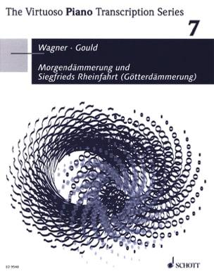 WAGNER - Morgendämmerung And Siegfrieds Rheinfahrt Twilight Of The God - Sheet Music - di-arezzo.co.uk