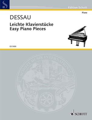 Paul Dessau - Easy Piano Pieces - Partition - di-arezzo.fr