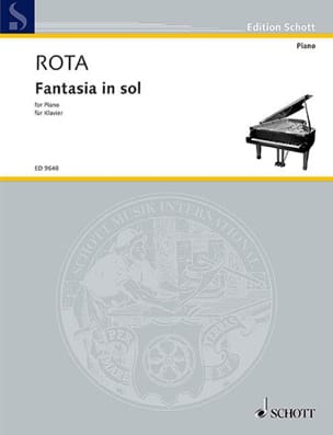 Nino Rota - Fantasia In Sol - Partition - di-arezzo.co.uk