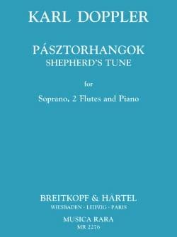 Pasztorhangok - Karl Doppler - Partition - laflutedepan.com