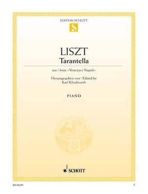 Franz Liszt - Tarantella - Partition - di-arezzo.fr