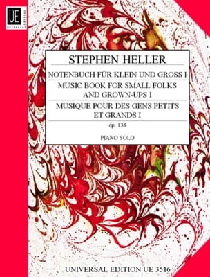 Notenbuch Fur Klein Und Gross Op. 138 Volume 1 - laflutedepan.com