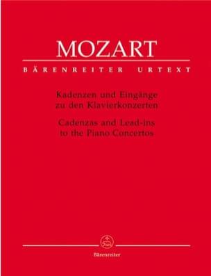 MOZART - ピアノ協奏曲のためのケイデンス - 楽譜 - di-arezzo.jp