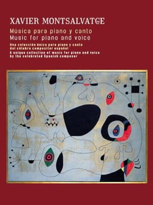 Xavier Montsalvatge - Musica Para Piano Y Canto And Guitar - Sheet Music - di-arezzo.com