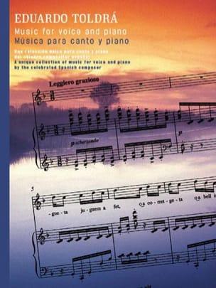 Eduardo Toldra - Musica Para Canto Y Piano - Partition - di-arezzo.fr