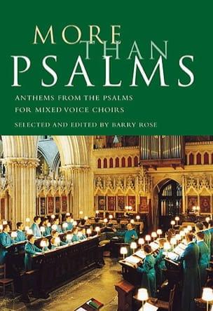 More Than Psalms - Partition - Chœur - laflutedepan.com