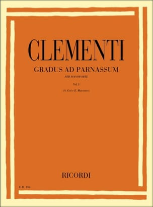 Muzio Clementi - Gradus Ad Parnassum Volumen 1 - Partitura - di-arezzo.es