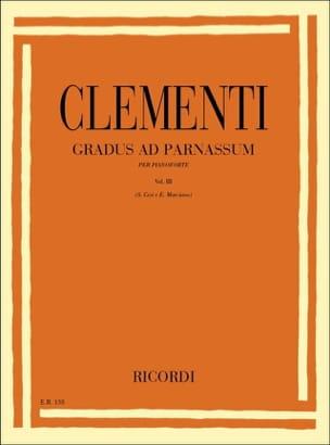 Gradus Ad Parnassum Volume 3 - CLEMENTI - Partition - laflutedepan.com