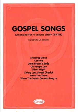 - Gospel Songs - Partition - di-arezzo.fr