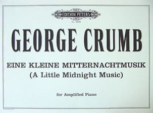 George Crumb - Eine Kleine Mitternachtmusik - Sheet Music - di-arezzo.co.uk