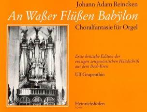 An Wasser Flussen Babylon - Johann Adam Reincken - laflutedepan.com
