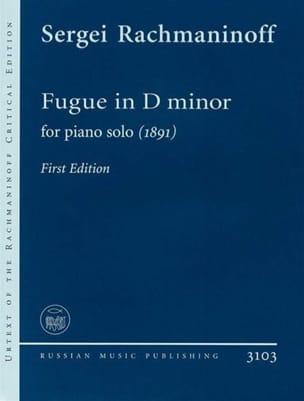 Sergei Rachmaninov - Suite en Ré mineur - Partition - di-arezzo.fr