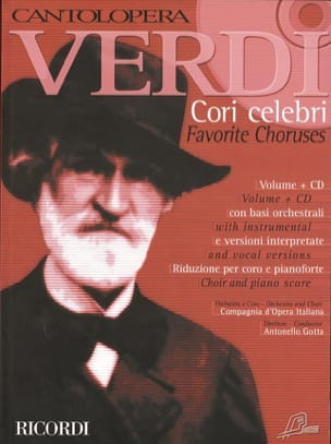 VERDI - Cori Celebri - Sheet Music - di-arezzo.co.uk