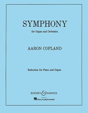 Aaron Copland - Symphony For Organ - Partition - di-arezzo.fr