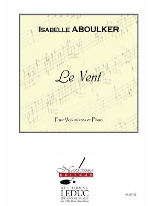 Isabelle Aboulker - The wind - Sheet Music - di-arezzo.co.uk