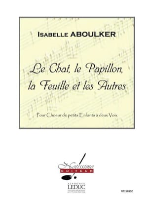 Isabelle Aboulker - Cat, Butterfly, Leaf and Others - Sheet Music - di-arezzo.com