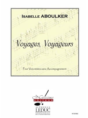 Isabelle Aboulker - Voyages, Voyageurs - Partition - di-arezzo.fr