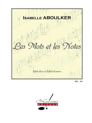 Isabelle Aboulker - Words and Notes - Sheet Music - di-arezzo.co.uk