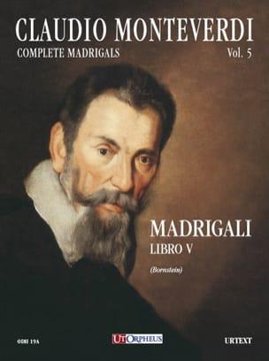 Madrigali Libro 5 - Claudio Monteverdi - Partition - laflutedepan.com