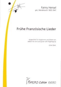 18 Französiche Lieder - Fanny Hensel - Partition - laflutedepan.com