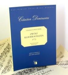 Christian Gottlob Neefe - 12 Klavier Sonaten 1773 - Partition - di-arezzo.fr