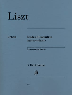 Franz Liszt - Transcendental Execution Studies - Sheet Music - di-arezzo.com