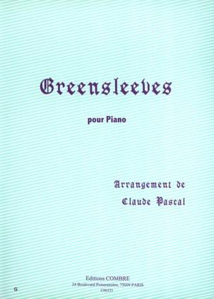 Greensleeves - Partition - Piano - laflutedepan.com