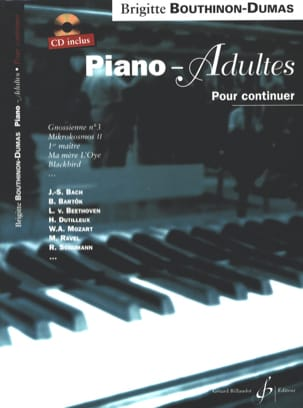 Bouthinon-Dumas Brigitte - Piano-Adult, To Continue - Sheet Music - di-arezzo.co.uk