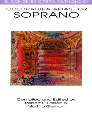 Opera Anthology : Arias Pour Soprano Colorature - Partition - di-arezzo.fr