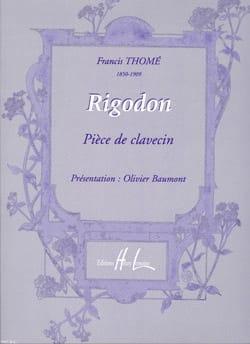 Rigodon Op. 97 - Thomé - Partition - Clavecin - laflutedepan.com
