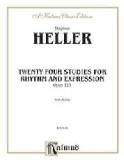 Stephen Heller - 24 Studies For Rhythm And Expression Op. 125 - Sheet Music - di-arezzo.com