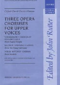 - 3 Opera Choruses - Sheet Music - di-arezzo.co.uk