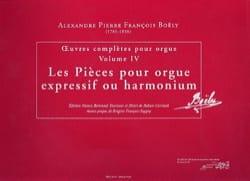 Alexandre Pierre François Boëly - Oeuvres complètes. Volume 4 - Partition - di-arezzo.fr