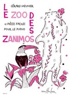 Le Zoo des Zanimos - Gérard Meunier - Partition - laflutedepan.com