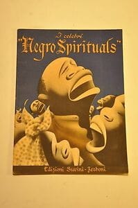 I Celebri Negro Spirituals - Partition - laflutedepan.com