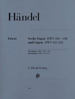 Georg-Friedrich Haendel - 6 fugues HWV 605-610 et Fugues HWV 611 et 612 - Partition - di-arezzo.fr