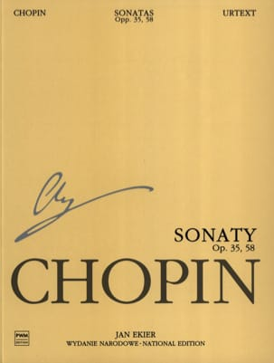 CHOPIN - Sonatas Opus 35, 58 - Sheet Music - di-arezzo.co.uk