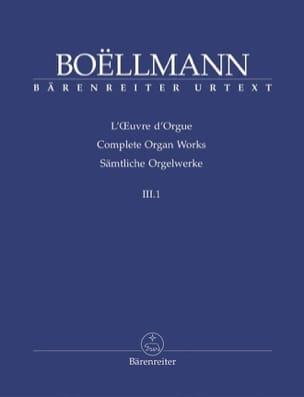 Léon Boëllmann - Organ Work Volume 3-1 - Sheet Music - di-arezzo.com