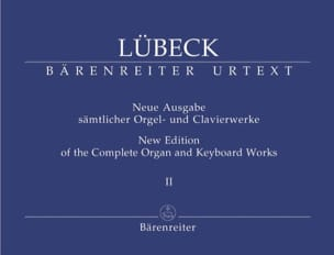 Vincent Lübeck - Oeuvre D'orgue Volume 2 - Partition - di-arezzo.fr