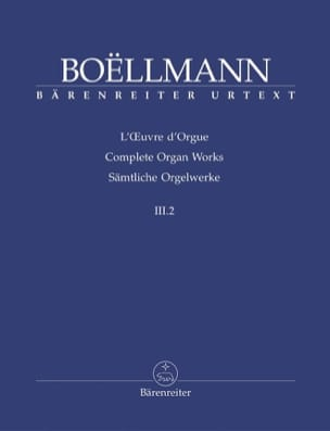 Léon Boëllmann - Organ Work Volume 3-2. - Sheet Music - di-arezzo.com