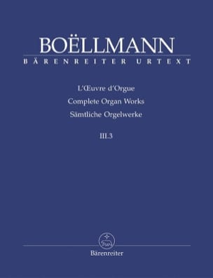 Léon Boëllmann - Organ Work Volume 3-3. - Sheet Music - di-arezzo.com