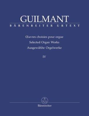 Oeuvres Choisies Pour Orgue Volume 4 - laflutedepan.com