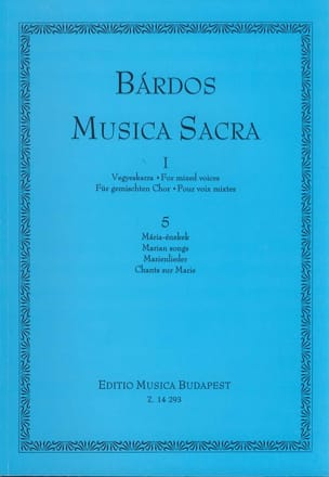 Lajos Bardos - Musica Sacra Volume 1 - Sheet Music - di-arezzo.co.uk