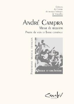 Requiem CAMPRA Partition Chœur - laflutedepan