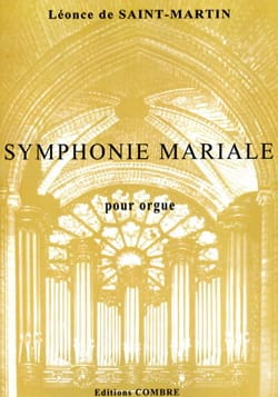 Symphonie Mariale Léonce de Saint-Martin Partition laflutedepan