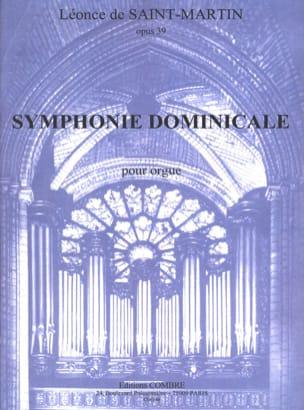 Symphonie Dominicale Opus 39 Léonce de Saint-Martin laflutedepan